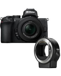 Nikon Z50 + 16-50 dx + FTZ adapter