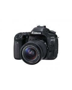 Canon EOS 80D + EF-S 18-55 IS STM non rep