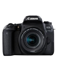 Canon EOS 77D EF-S 18-55mm F4-5.6 IS STM