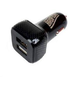 Brofish USB Carcharger Duo zwart
