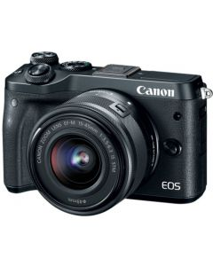 Canon EOS M6 Black + EF-M 15-45 IS STM