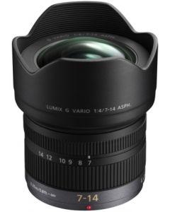 Panasonic H-F007014E 7-14mm/f4.0 Black