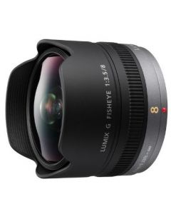 Panasonic H-F008E 8mm/f3.5 Black