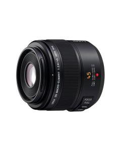 Panasonic H-ES045E Leica 45mm/f2.8 Black