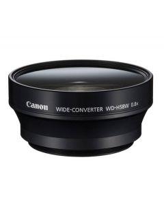 Canon WD-H58W Groothoek-converter