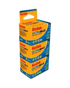 Kodak Ultra max ISO400 135-36st 3 pak