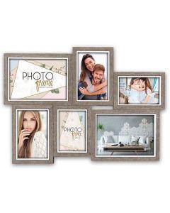 Zep Houten Collage Fotolijst LGX663 Varel voor 6 Foto's