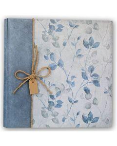 Zep Foto Album GD323250B Garden Blue met 50 Sheets 32x32 cm