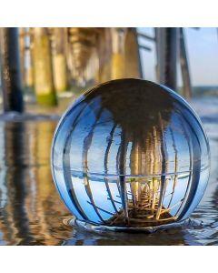 Crystal Lensball 80mm + gratis houder