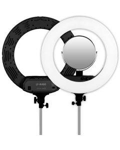 Caruba Round Vlogger 18 inch LED set Economy met tas - Black