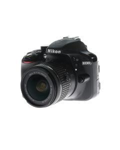 Occasion: Nikon D3300 + AF-P 18-55mm VR