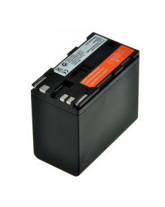 Jupio BP-975 7350 mAh - CANON XF100/XF105/XF300/XF305