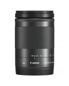 Canon EF-M 18-150mm f/4.5-6.3 IS STIM Black