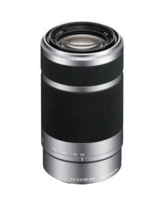 Sony SEL 55-210mm/F4.5-6.3 zilver