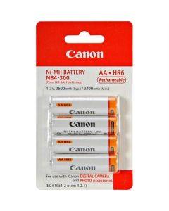 Canon NB4-300 AA batterijen - 4 stuks (2500 mAh)