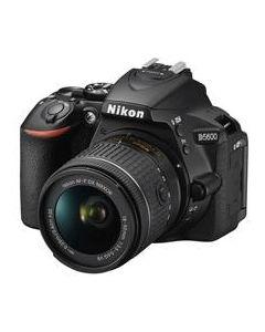 Nikon D5600 + AF-P 18-55 VR  zwart